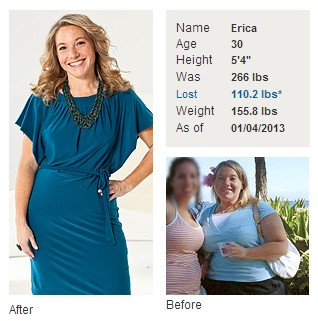 How Weight Watchers Helped Erica Lose 110 Pounds