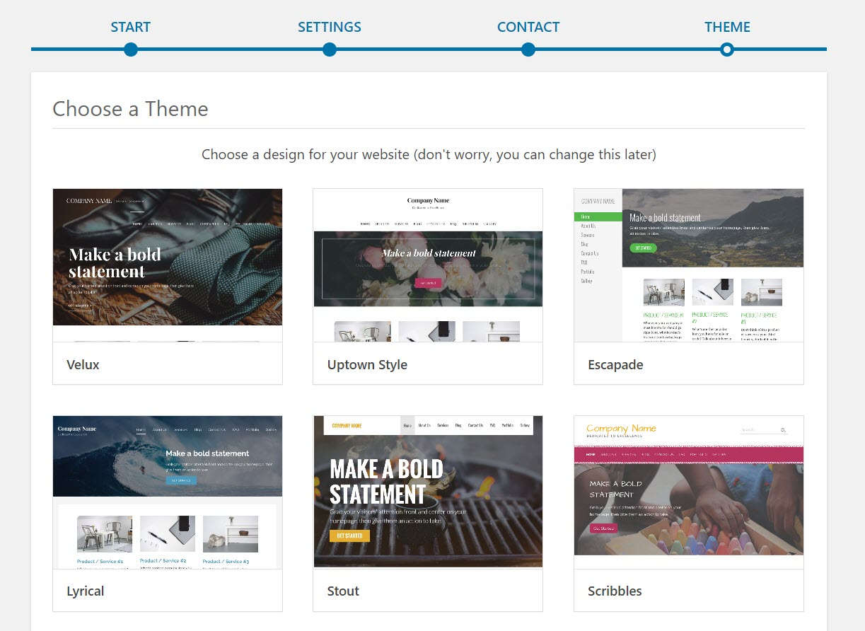 GoDaddy Themes